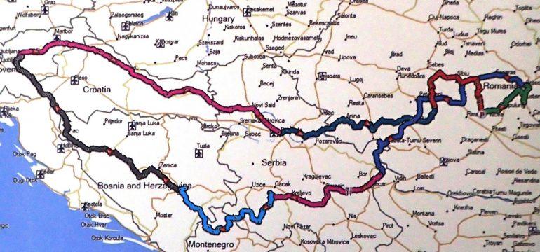 Popotovanje po Romuniji in Srbiji 2018
